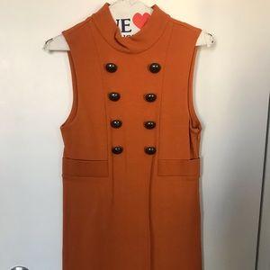 Tibi Orange Dress, XS
